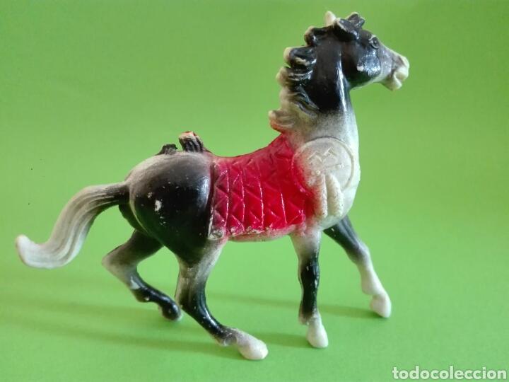 Figuras de Goma y PVC: Comansi caballo indio n° 29 - Foto 2 - 170070556