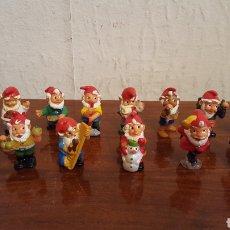 Figuras Kinder: LOTE GNOMOS / ENANOS / ENANITOS - KINDER - AÑOS 90 - FERRERO. Lote 170120038