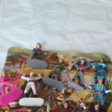 Figuras de Goma y PVC: ANTIGUO CARTON CON SOLDADOS DE COMANSI ,SON 10 PIEZAS DE LOS AÑOS 60 EN SU CARTON ORIGINAL.. Lote 170177585