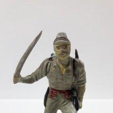 Figuras de Goma y PVC: SOLDADO JAPONES . REALIZADO POR PECH . AÑOS 50 EN GOMA. Lote 170196816