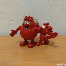Figuras de Goma y PVC: FIGURA PVC GLÓBULO ROJO ÉRASE UNA VEZ EL CUERPO HUMANO COMICS SPAIN. Lote 170222785