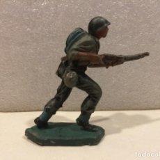 Figuras de Goma y PVC: SOLDADO AMERICANO PECH - GOMA. Lote 170285664