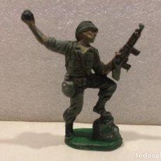 Figuras de Goma y PVC: SOLDADO AMERICANO PECH - GOMA. Lote 170285708