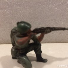 Figuras de Goma y PVC: SOLDADO AMERICANO PECH - GOMA. Lote 170285804