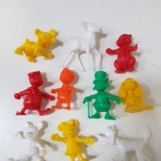 Figuras de Goma y PVC: LOTE 10 FIGURAS DUNKIN DE DISNEY / AÑOS 80 / SALÍAN EN LOS YOGURES YOPLAIT. Lote 170308380