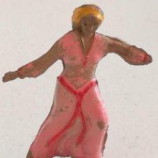 Figuras de Goma y PVC: FIGURA GOMA - SIGRID - EL CAPITÁN TRUENO - JIN - ESTEREOPLAST. Lote 170411012