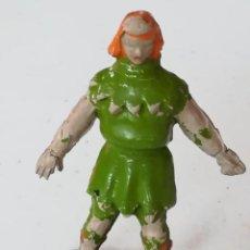 Figuras de Goma y PVC: FIGURA GOMA - CRISPIN - EL CAPITÁN TRUENO - JIN - ESTEREOPLAST. Lote 170463044