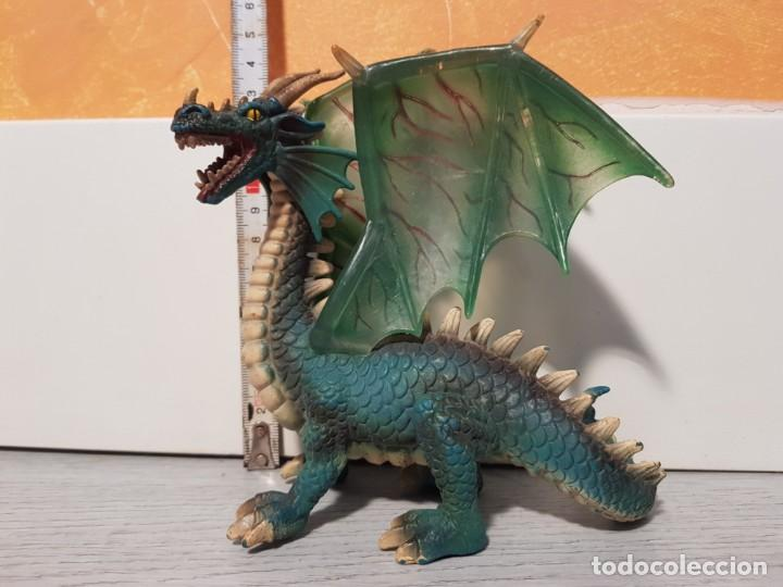 Figuras de Goma y PVC: Dragón de goma de Schleich - Foto 2 - 170545368