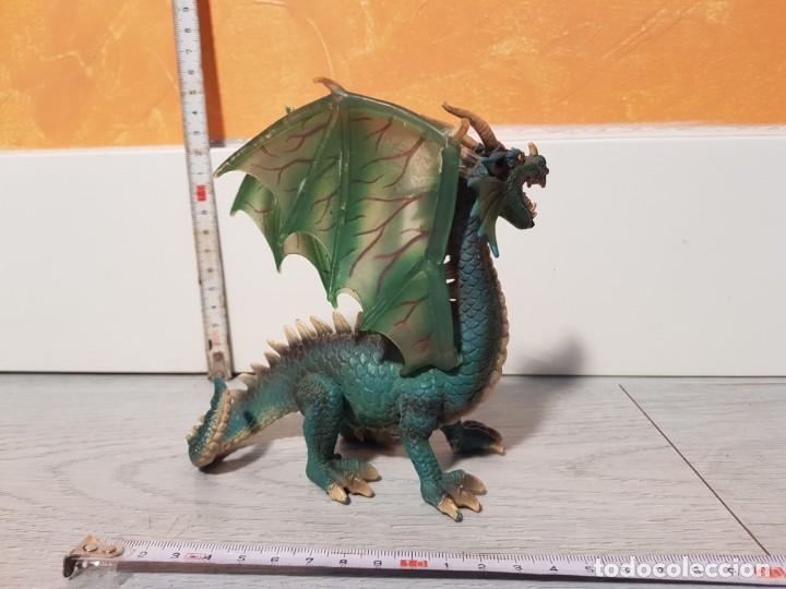 Figuras de Goma y PVC: Dragón de goma de Schleich - Foto 3 - 170545368