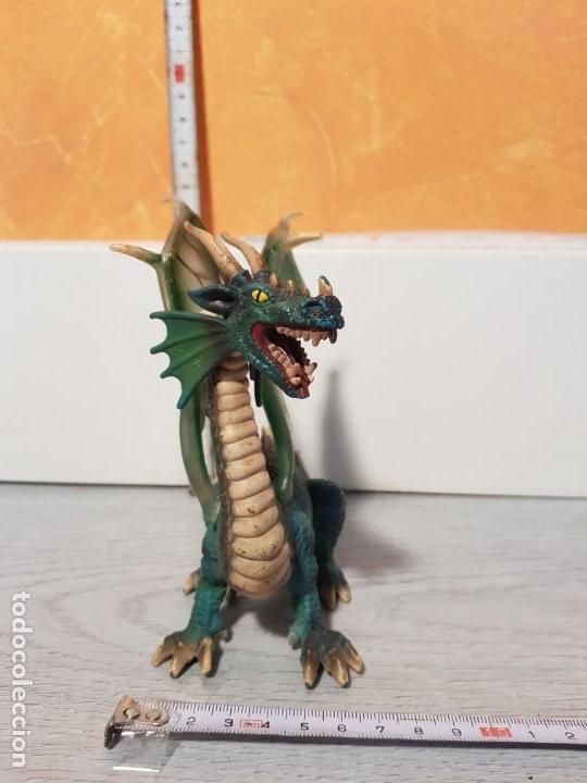 Figuras de Goma y PVC: Dragón de goma de Schleich - Foto 4 - 170545368