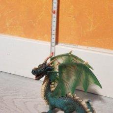Figuras de Goma y PVC: DRAGÓN DE GOMA DE SCHLEICH. Lote 170545368