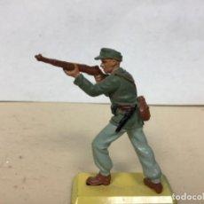 Figuras de Goma y PVC: FIGURA MILITAR ALEMAN BRITAINS AFRICA KORPS NO PECH COMANSI SOLDADOS DEL MUNDO . Lote 170552696
