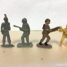 Figuras de Goma y PVC: FIGURA MILITAR DUNKIN PREMIUM PHOSKITOS ALCA MONOCOLOR PROMOCIONAL DETERGENTE. Lote 170553204