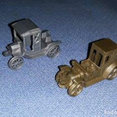 Figuras de Goma y PVC: DOS COCHES DUNKIN CONGUITOS ORIGINALES AÑOS 60/70 VER FOTOS Y DESCRIPCION. Lote 170581400