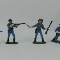 Figuras de Goma y PVC: 6 FIGURAS DEL SEPTIMO DE CABALLERIA, CABALLERIA REAMSA, JECSAN?, MIDEN 7 CMS.. Lote 170582525