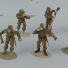 Figuras de Goma y PVC: TROPAS COLONIALES 10 FIGURAS TIMPO TOYS, MADE IN ENGLAND, SOLDADOS LEGIÓN FRANCESA. MIDEN 6 CMS.. Lote 170702465