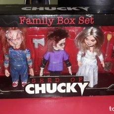 Figuras de Goma y PVC: SEED OF CHUCKY FAMILY BOX SET SIN ABRIR. Lote 170863485