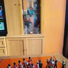 Figuras de Goma y PVC: OFERTA LOTE DE 16 MILITARES CASA BRITAINS METÁLICOS 5 DESCONOCIDOS EN PLOMO MACIZO. MUY BUEN ESTADO. Lote 170877845