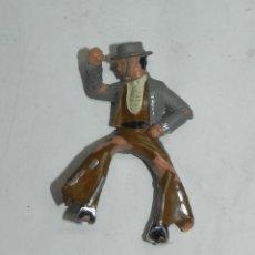 Figuras de Goma y PVC: FIGURA PICADOR REALIZADO EN GOMA POR PECH HERMANOS. TOROS, TAUROMAQUIA, TORERO. MIDE 5,7 CMS.. Lote 170904645