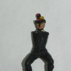 Figuras de Goma y PVC: FIGURA DE GOMA DE ALGUACIL, TEIXIDO, TOROS, TAUROMAQUIA, FABRICADO EN GOMA.. Lote 170908065