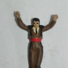 Figuras de Goma y PVC: ANTIGUO BANDERILLERO DE LA CORRIDA DE TEIXIDO, REALIZADO EN GOMA, AÑOS 60. LE FALTAN LAS BANDERILLAS. Lote 170916425