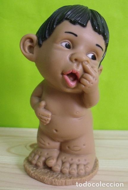 Figuras de Goma y PVC: Figura Muñeca Goma PVC Joimy - Piti Gestos Baby - Foto 3 - 170986384