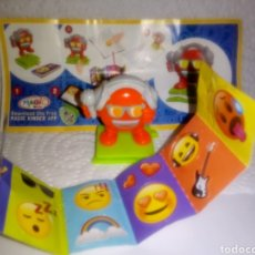 Figuras Kinder: FIGURA KINDER EMOJI + BPZ EN603. Lote 171059355