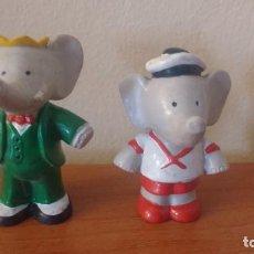 Figuras de Goma y PVC: LOTE FIGURAS PVC BABAR 1990 L DE BRUNHOFF I. Lote 171123797