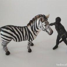Figuras de Goma y PVC: FIGURA CEBRA GOMA . Lote 171124569