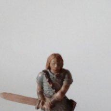 Figuras de Goma y PVC: FIGURA VIKINGO DE GOMA. Lote 171189859
