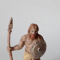 Figuras de Goma y PVC: FIGURA VIKINGO DE GOMA. Lote 171190518