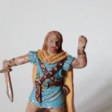 Figuras de Goma y PVC: FIGURA VIKINGO DE GOMA. Lote 171190839
