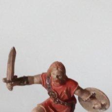 Figuras de Goma y PVC: FIGURA VIKINGO DE GOMA. Lote 171190949