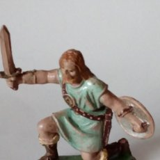 Figuras de Goma y PVC: FIGURA VIKINGO DE GOMA. Lote 171191183