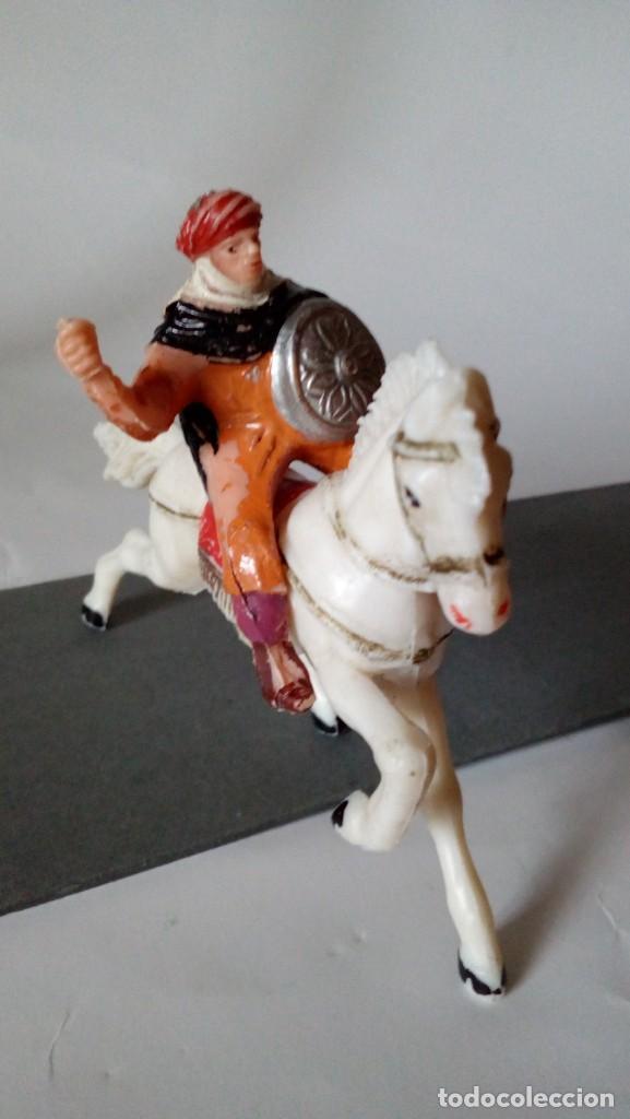 Figuras de Goma y PVC: Figura de guerrero arabe - Foto 2 - 171192224