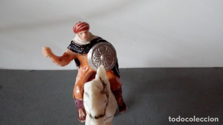 Figuras de Goma y PVC: Figura de guerrero arabe - Foto 3 - 171192224