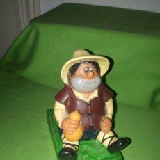 Figurines en Caoutchouc et PVC: ANTIGUA HUCHA PVC SANCHO PANZA DELGADO ROMAGOSA PERFECTA AÑOS 80. Lote 171240554