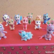 Figuras de Goma y PVC: LOTE ANIMALES TERCIOPELO -- DRAGONES. Lote 171247758