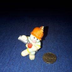 Figuras de Goma y PVC: MUÑECO OBRERO FRAGUEL ROCKS PVC SCHLEICH. Lote 171315490