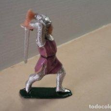 Figuras de Goma y PVC: FIGURA DE PLÁSTICO SOLDADO CRISTIANO SERIE MÍO CID JECSAN. Lote 171329868