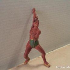 Figuras de Goma y PVC: FIGURA DE GOMA INDIO REAMSA. Lote 171336242