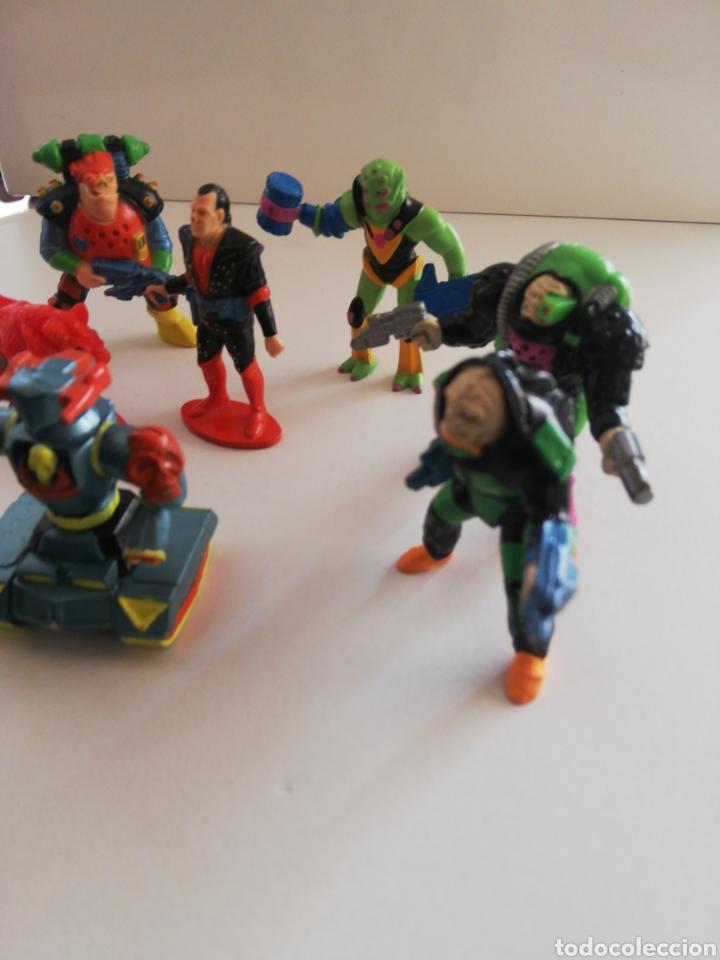 Figuras de Goma y PVC: Figura de goma 1991 los basureros l. G. T. I. Lote - Foto 3 - 171337620