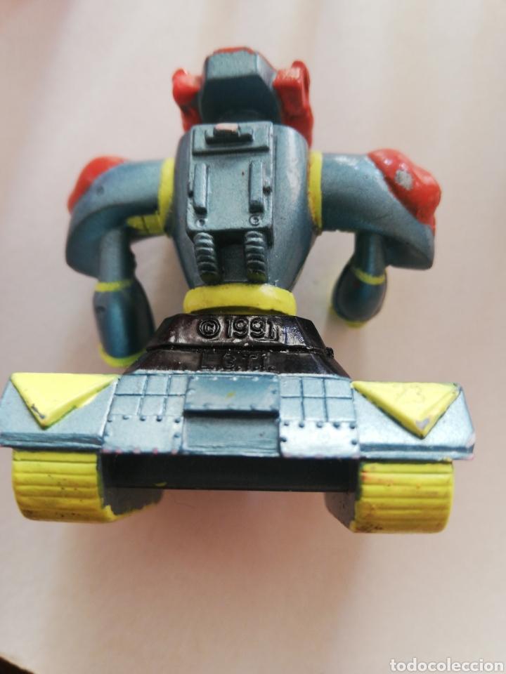Figuras de Goma y PVC: Figura de goma 1991 los basureros l. G. T. I. Lote - Foto 5 - 171337620
