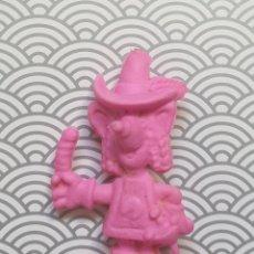 Figuras de Goma y PVC: FIGURA MUÑECO GOMA DE BORRAR ROSA RICITOS MASQUESERO - CHEETOS MATUTANO - NUEVA SIN USO DIFICIL. Lote 171351489