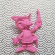 Figuras de Goma y PVC: FIGURA MUÑECO GOMA DE BORRAR ROSA TORCIDITOS MASQUESERO - CHEETOS MATUTANO - NUEVA SIN USO DIFICIL. Lote 171351589