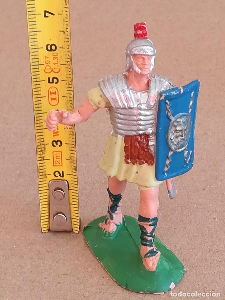 Figuras de Goma y PVC: FIGURA DE PLÁSTICO LEGIONARIO ROMANO JECSAN - Foto 2 - 171369250