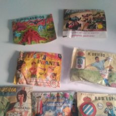 Figuras de Goma y PVC: LOTE DE 7 SOBRES SORPRESA MONTAPLEX Y OTROS. Lote 171377577