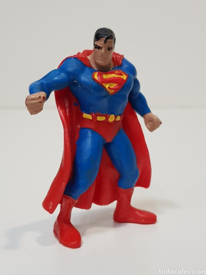 SUPERMAN - COMICS SPAIN / FIGURA DE GOMA Y PVC (Juguetes - Figuras de Goma y Pvc - Comics Spain)