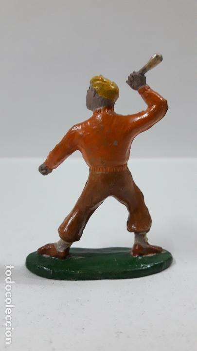 Figuras de Goma y PVC: ROBERTO ALCAZAR Y PEDRIN . REALIZADOS POR JIN . AÑOS 50 EN GOMA - Foto 4 - 171436008