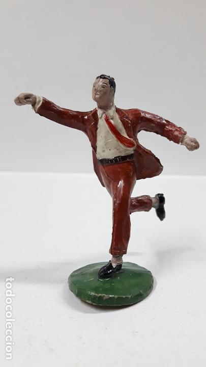 Figuras de Goma y PVC: ROBERTO ALCAZAR Y PEDRIN . REALIZADOS POR JIN . AÑOS 50 EN GOMA - Foto 5 - 171436008
